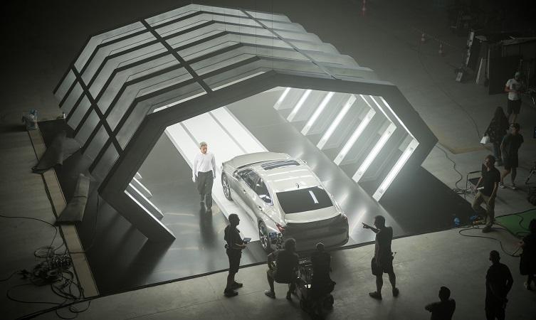 Lexus Unexpected AI Advert Image