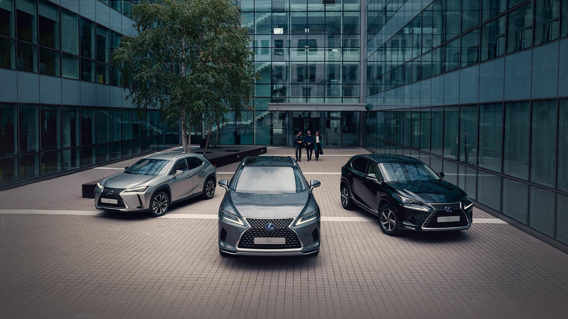 Lexus business contract hire hero