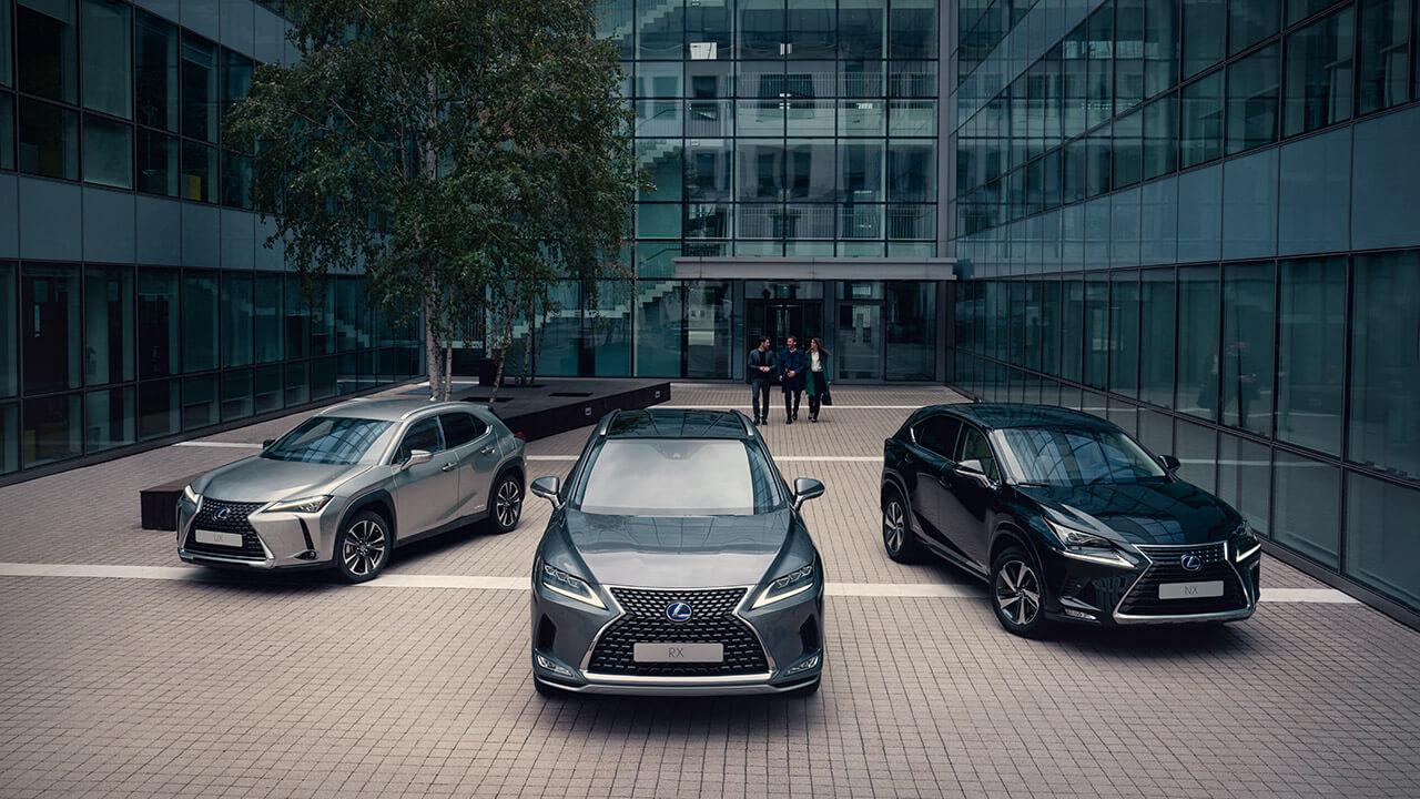 Lexus business contract hire next steps