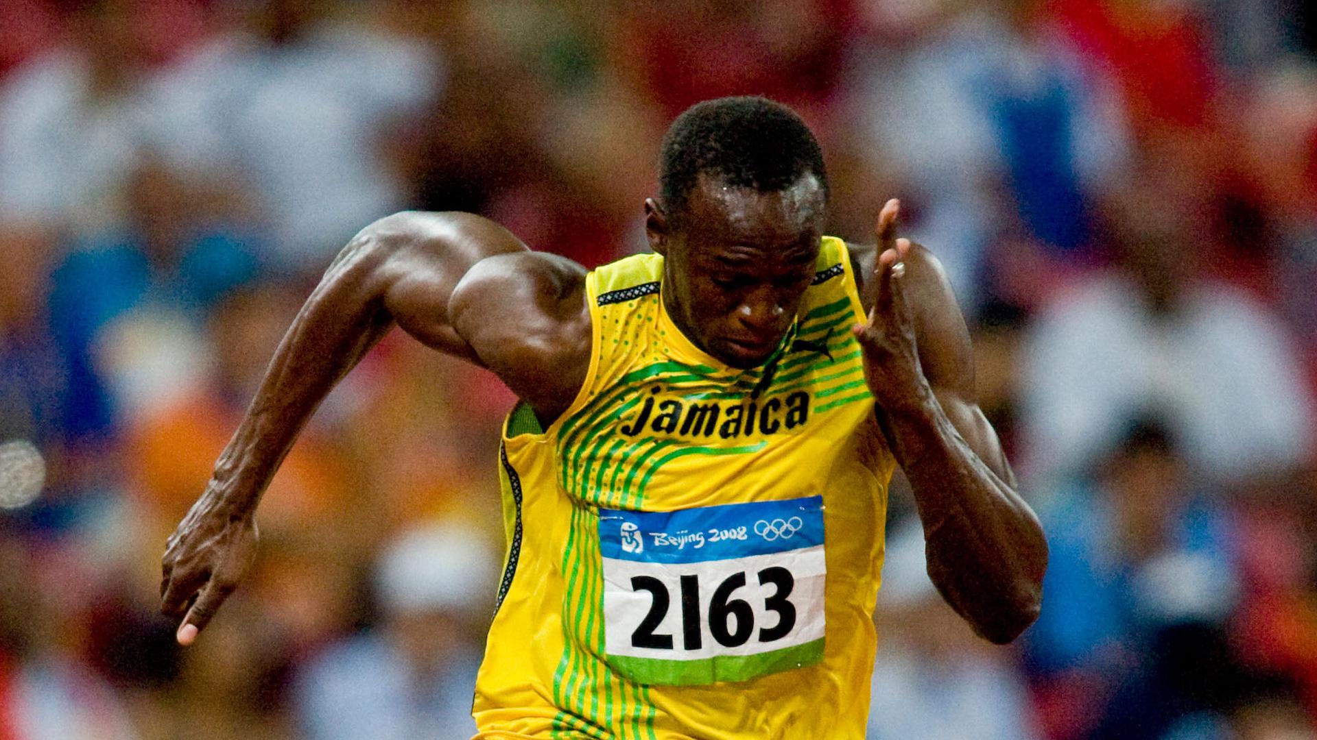 Usain Bolt hero
