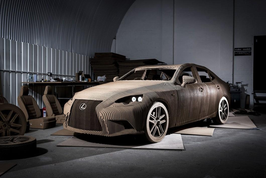 Lexus Unexpected Origami Car
