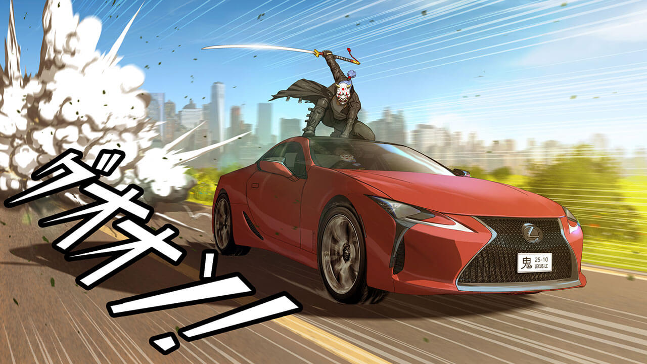 Artists Capture The Spirit Of Lexus In New Original Manga Artworks Hero image