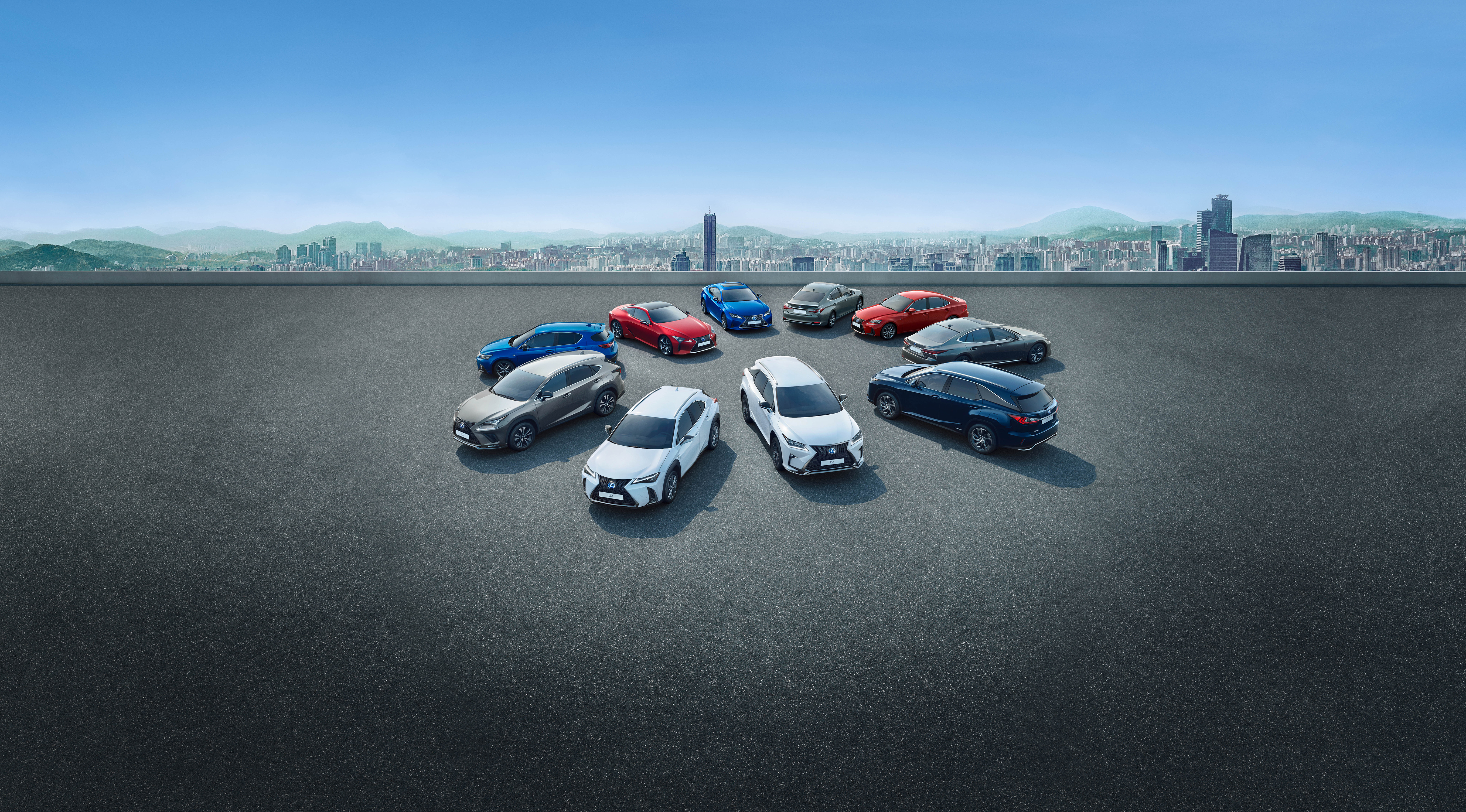 Full Hybrid Range Lexus Three Decades Image