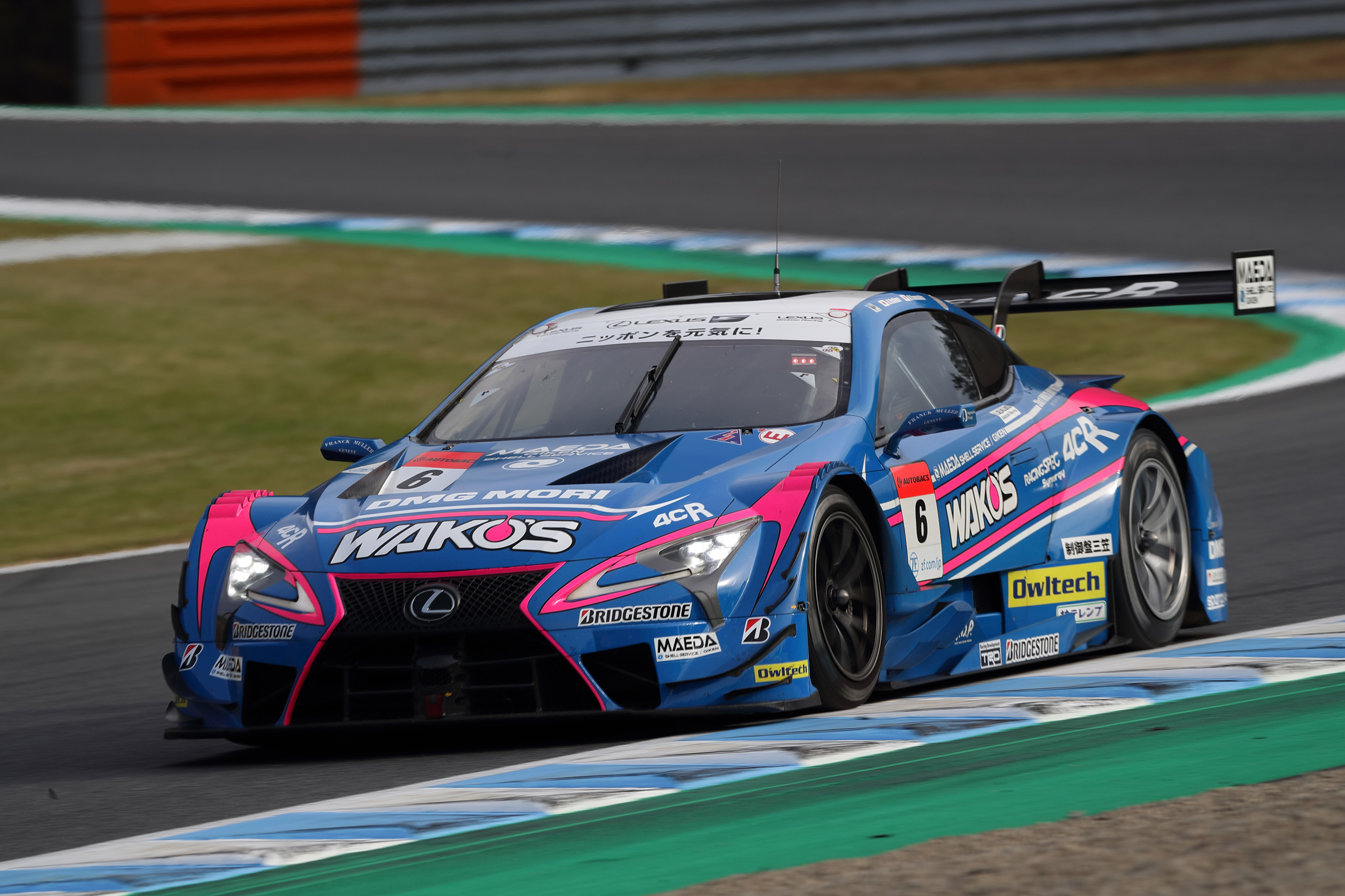 LEXUS SEALS FINAL CHAMPIONSHIP SUCCESS Image