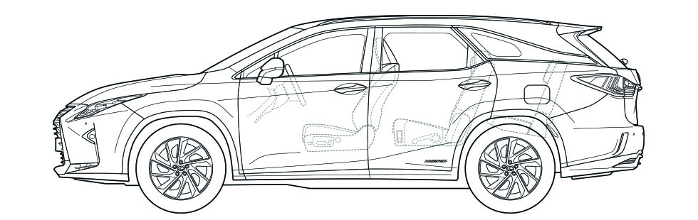 RXL Side Dimensions
