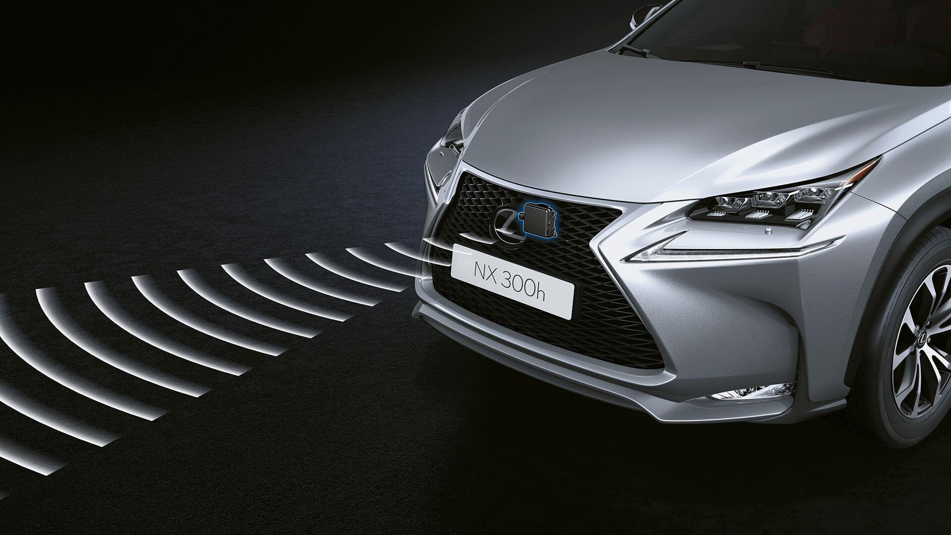 2017 lexus nx 300h features pre crash safety