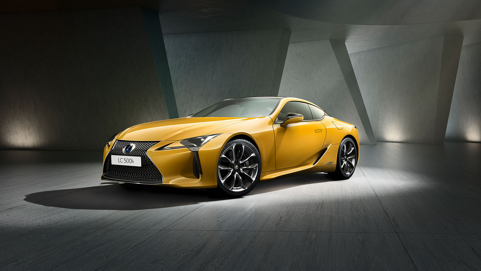2018 lexus lc yellow gallery exterior 001