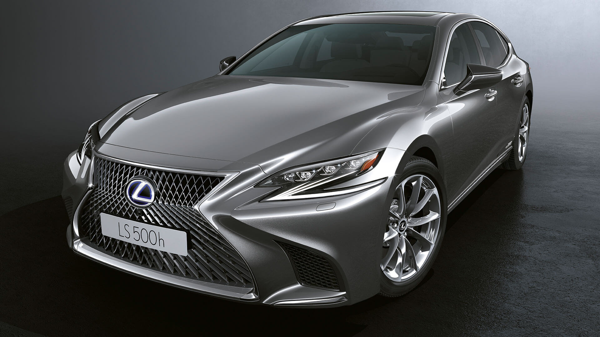2018 lexus ls features spindle grille