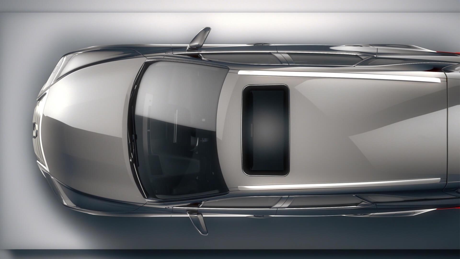 2018 lexus rx l features floating roof design