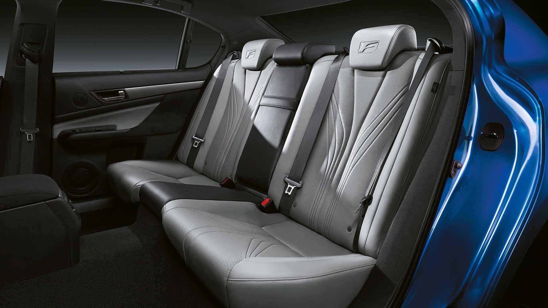 2017 lexus gs f features rear heated seats