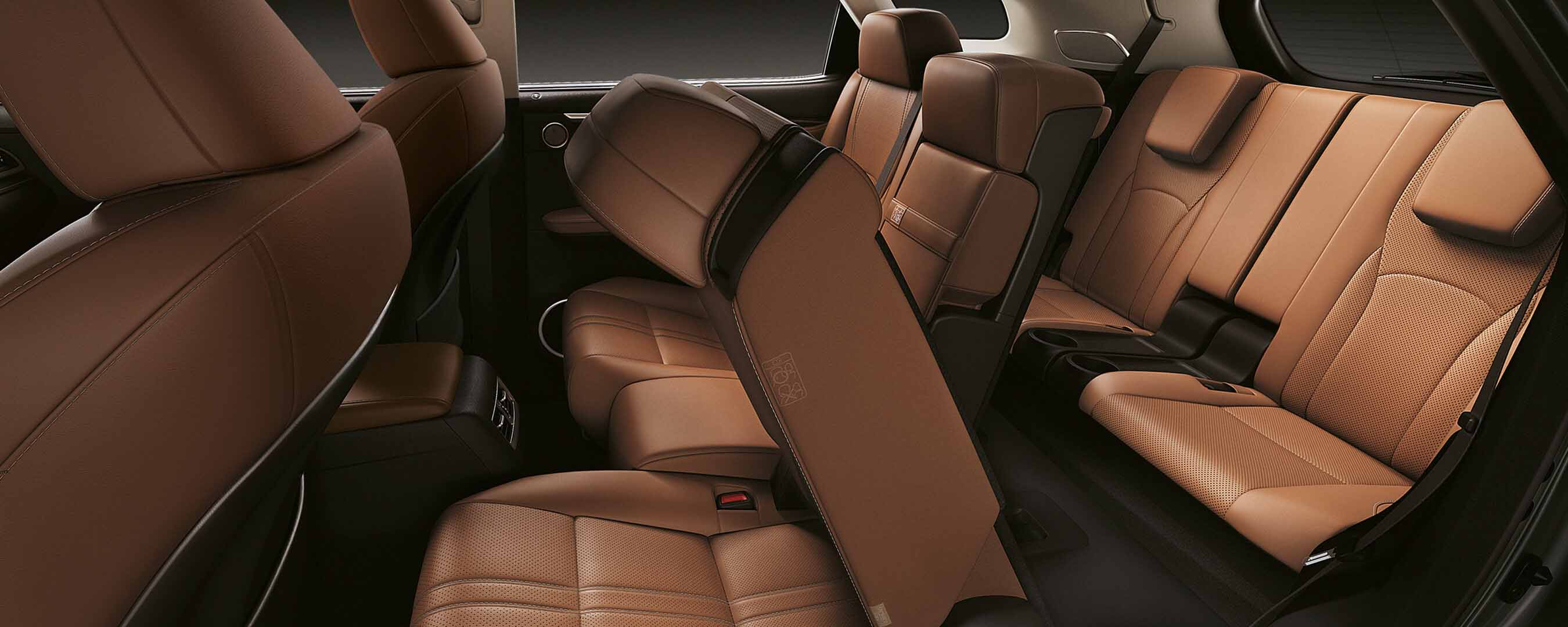 2018 lexus rx l experience interior back