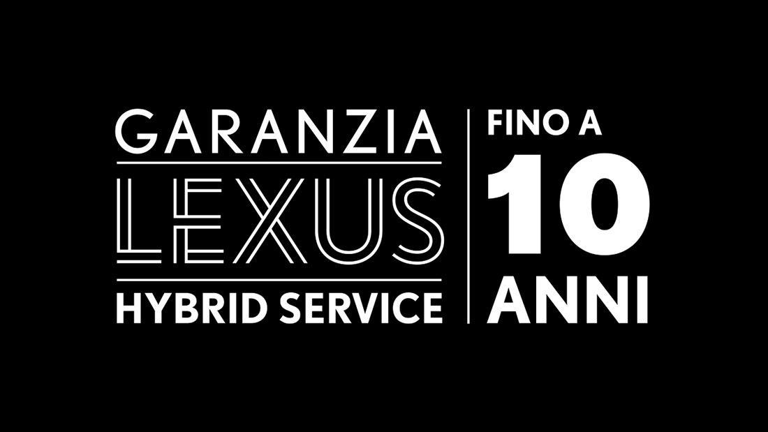 garanzia lexus 10 anni