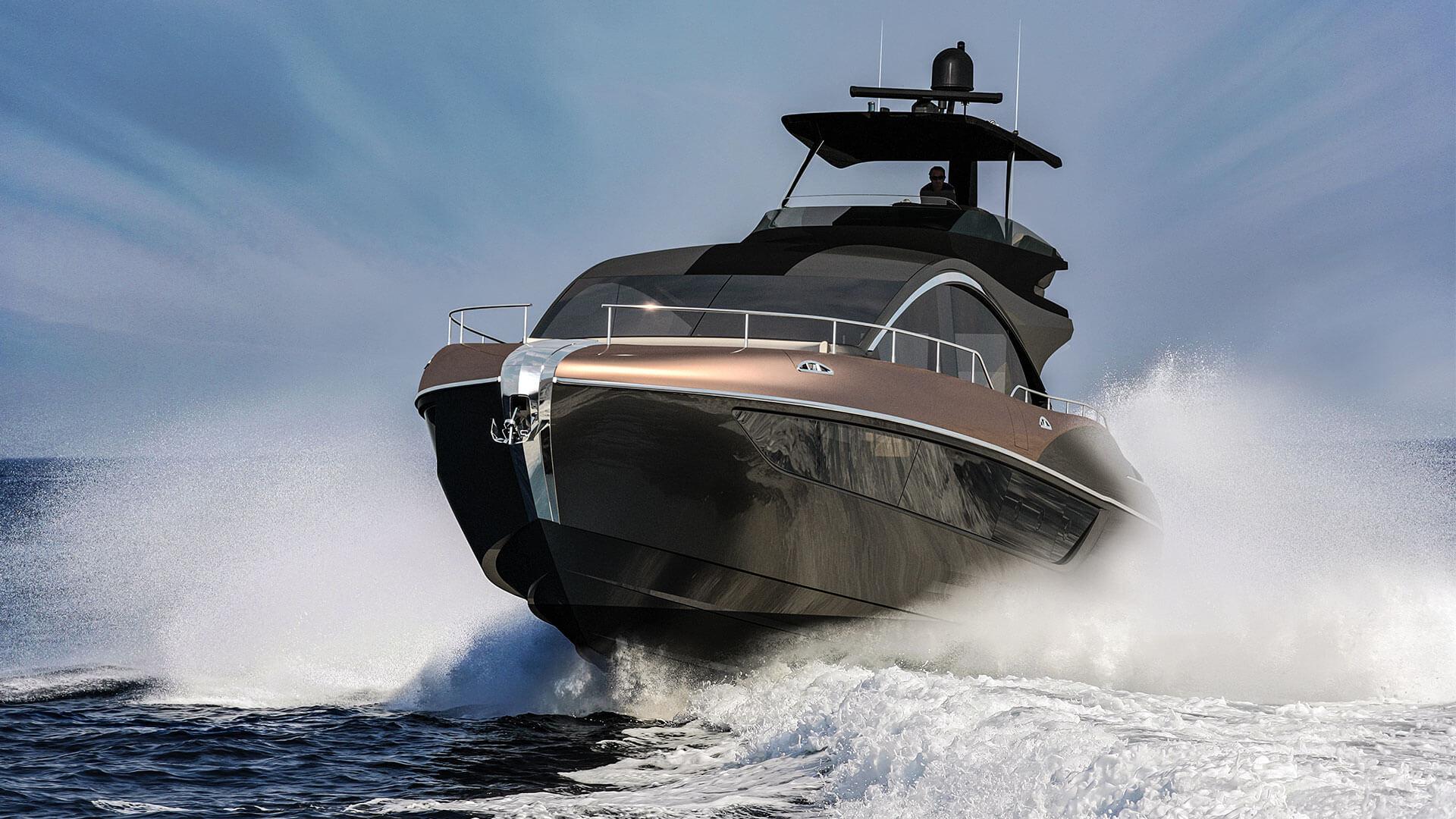 2019 lexus ly 650 luxury yacht hero
