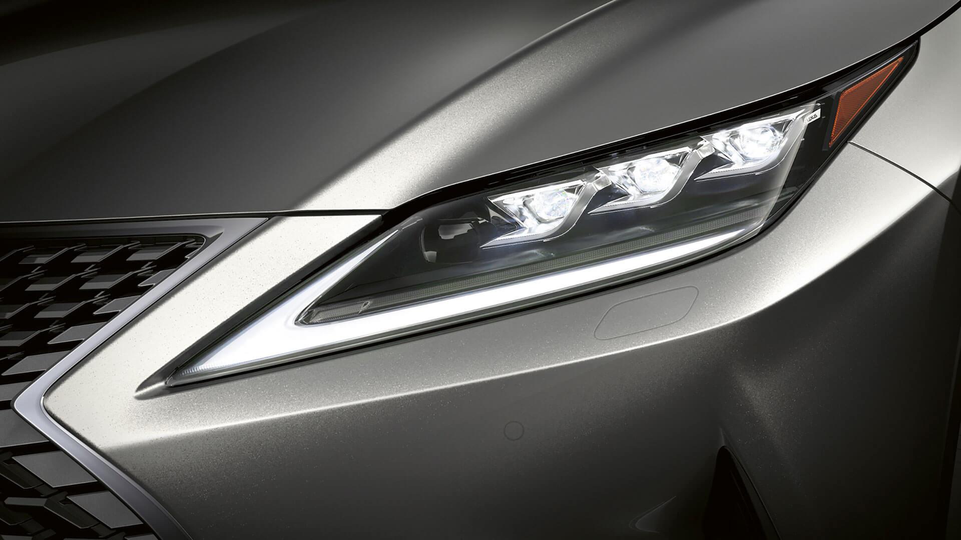 2019 lexus rxl hotspot triple led headlights
