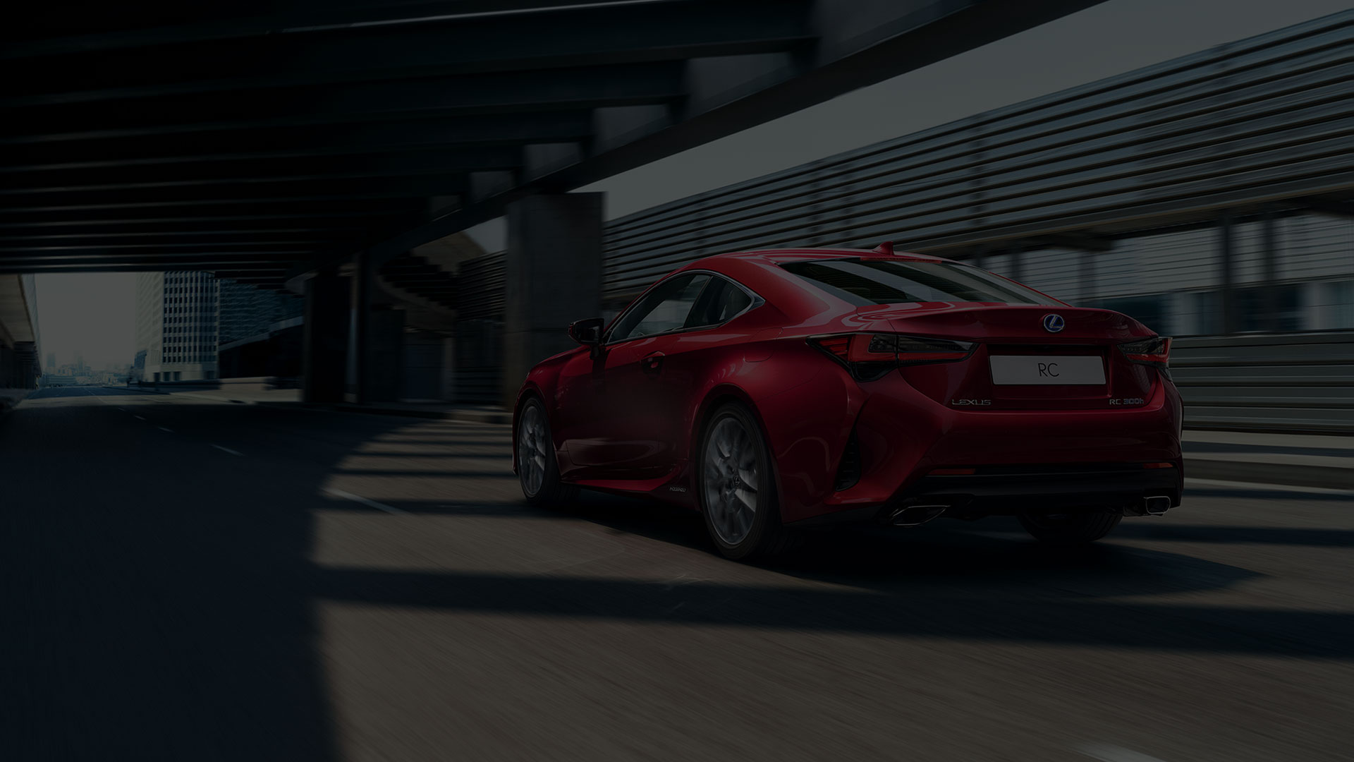 2018 lexus new rc driving emotion quote background