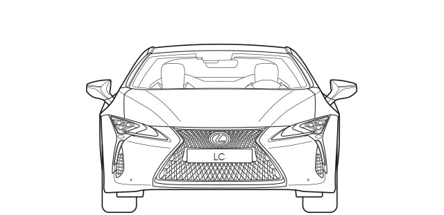 LC Front Dimensions