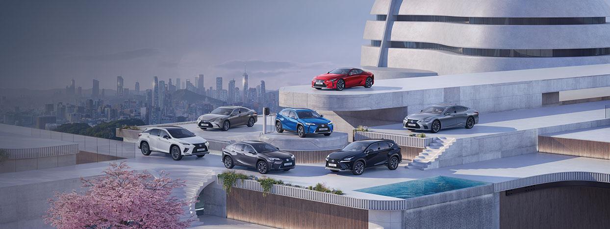 2021 lexus business grid meet the range