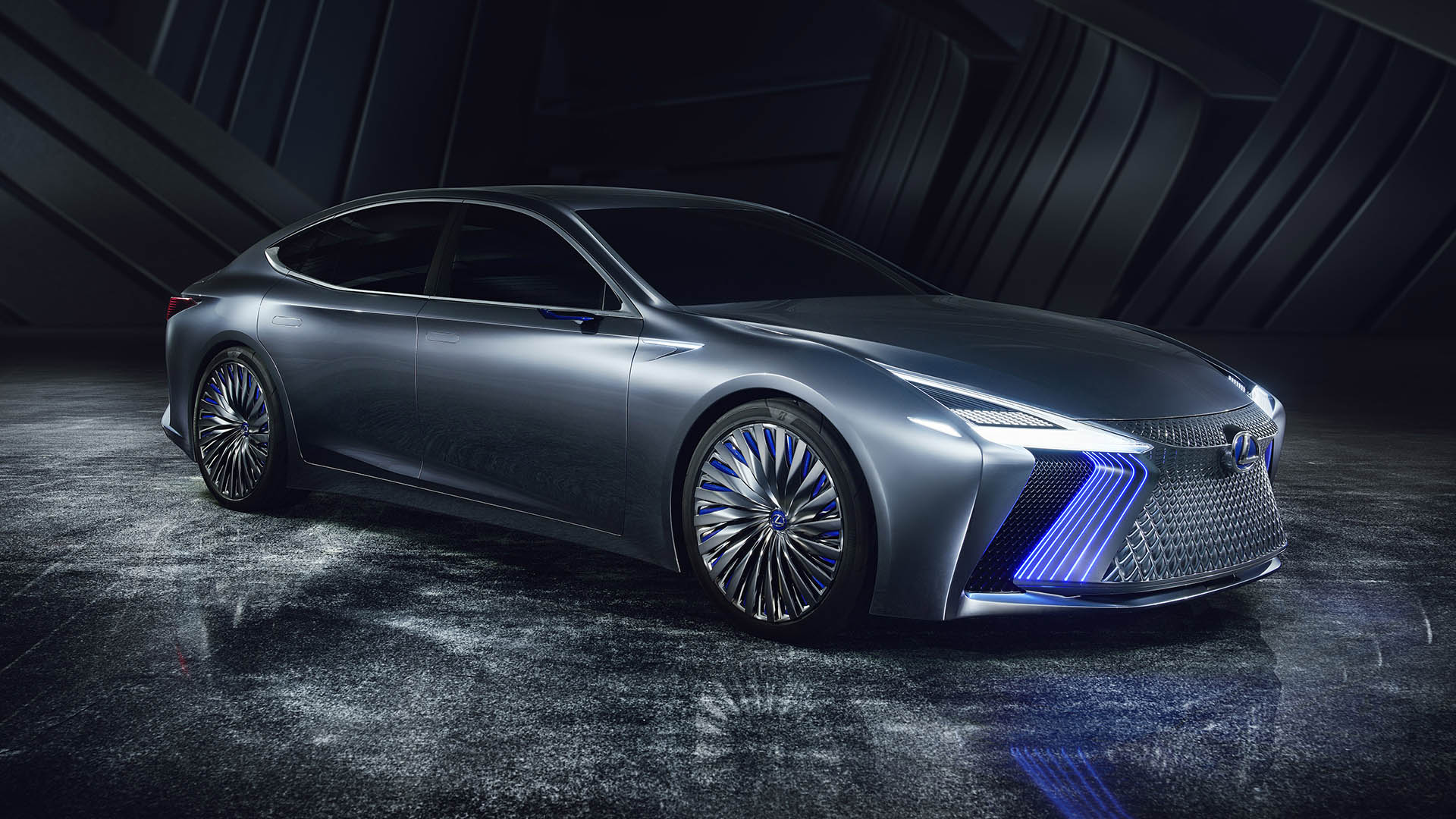 lexus ls plus concept hero