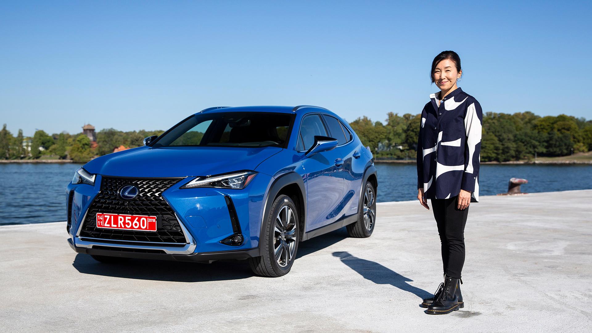 Lexus UX geinspireerd door Europese luxe en Japans design