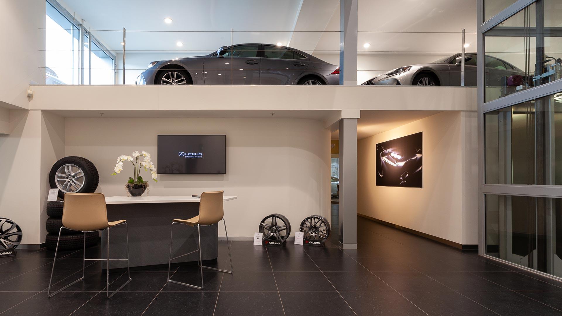 Afbeelding van het pand van Lexus Amsterdam