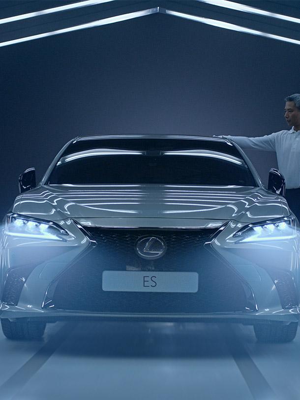Lexus ES kunstmatige intelligentie portrait