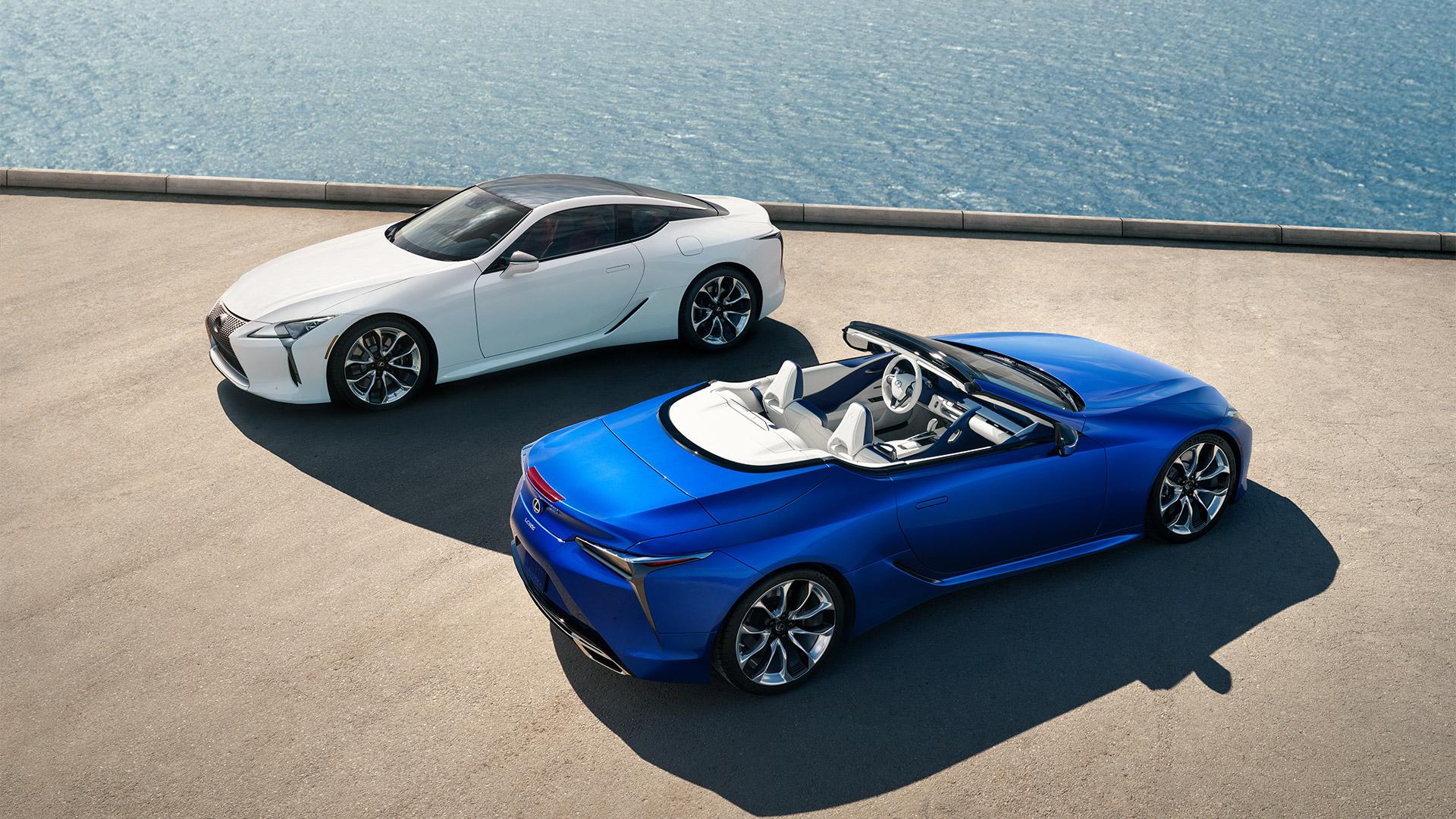 01 2019 027 nieuwe Lexus LC 500 Convertible 1920x1080 galerij