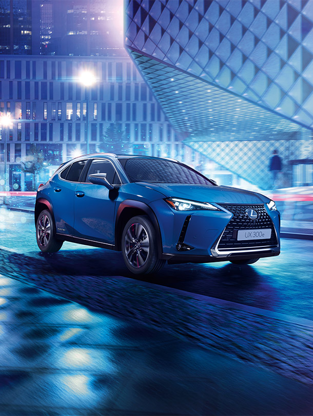 2020 020 Lexus UX 300e electrified portrait