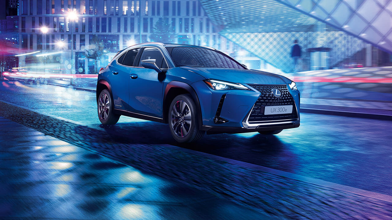 Lexus UX 300e next steps