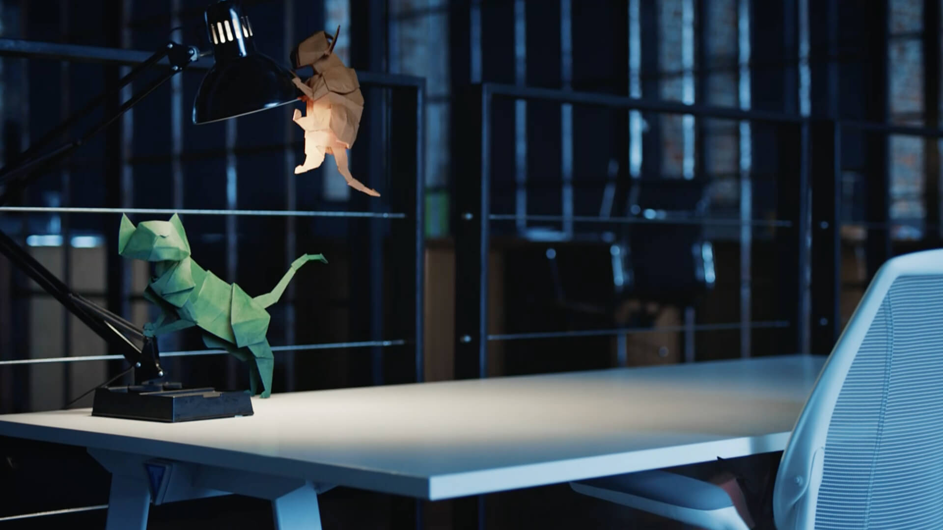 Origamikatter brettet av Takumi Mestere på 90 sekunder