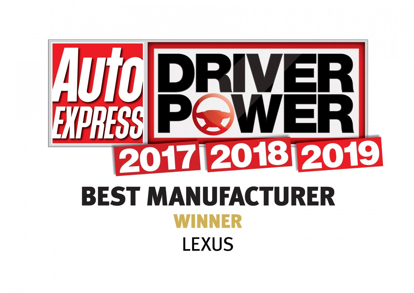Lexus eleita melhor fabricante no Reino Unido