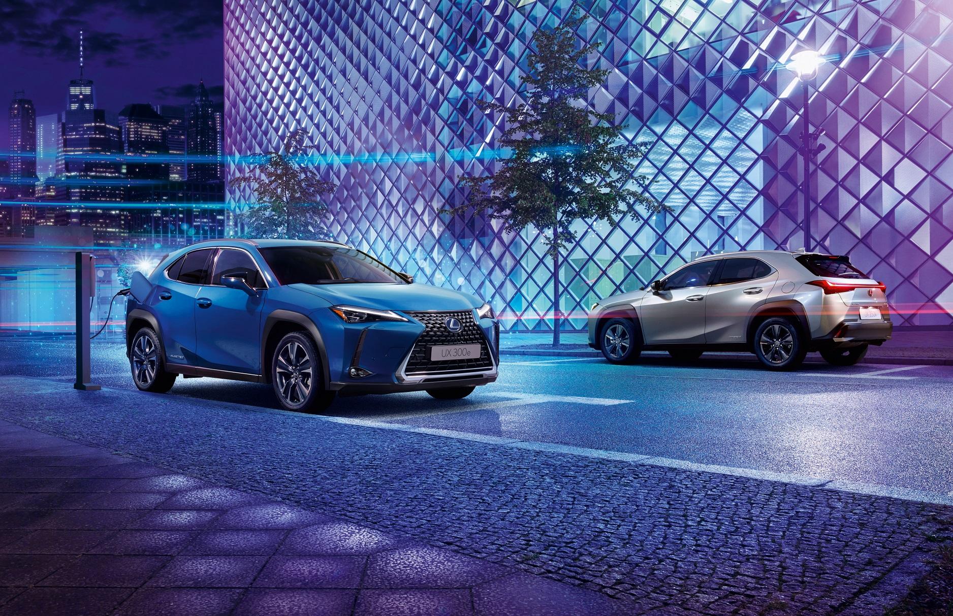 Lexus Estreia o primeiro 100porcento eletrico o UX300e