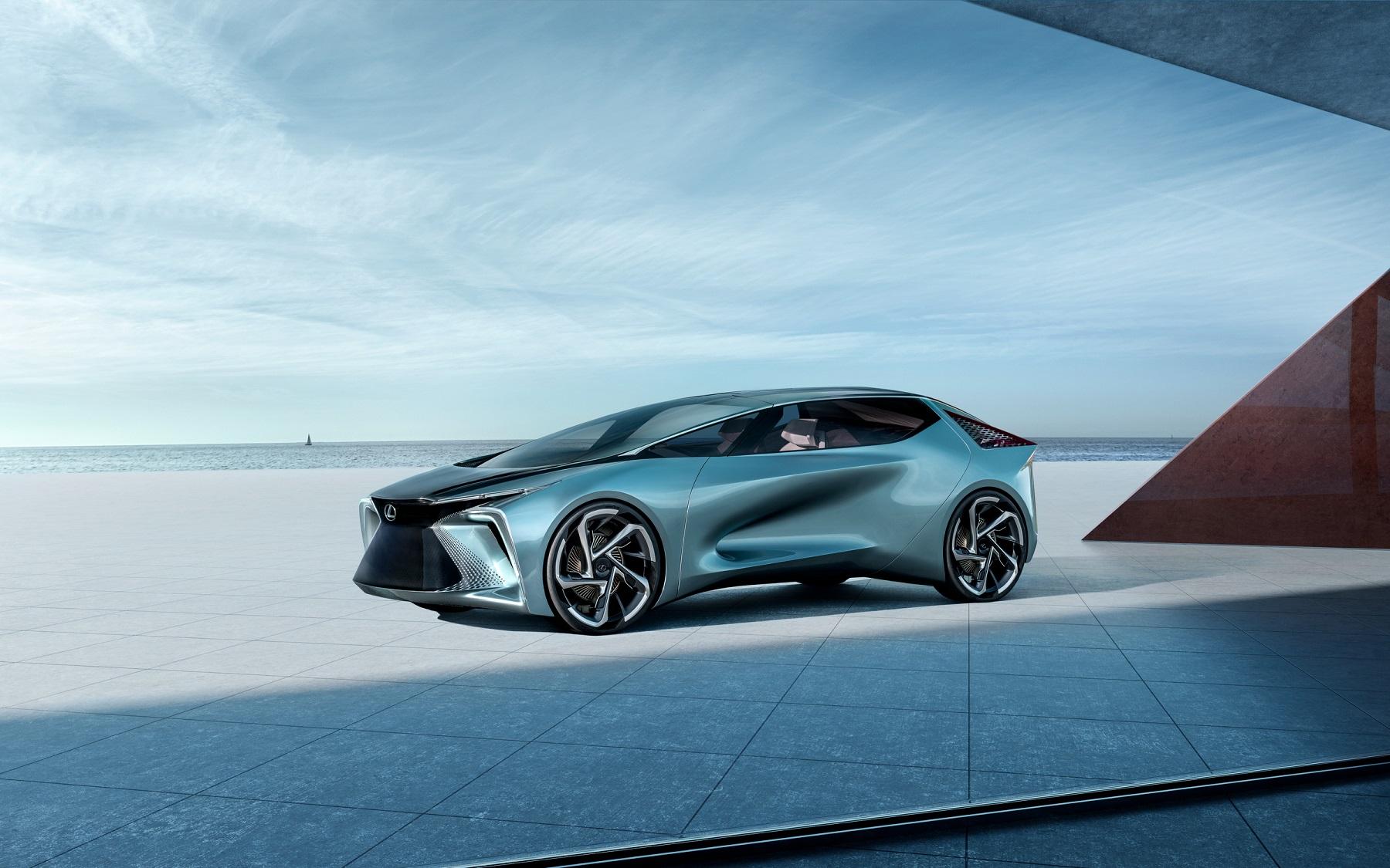 Lexus apresenta concept eletrificado LF 30
