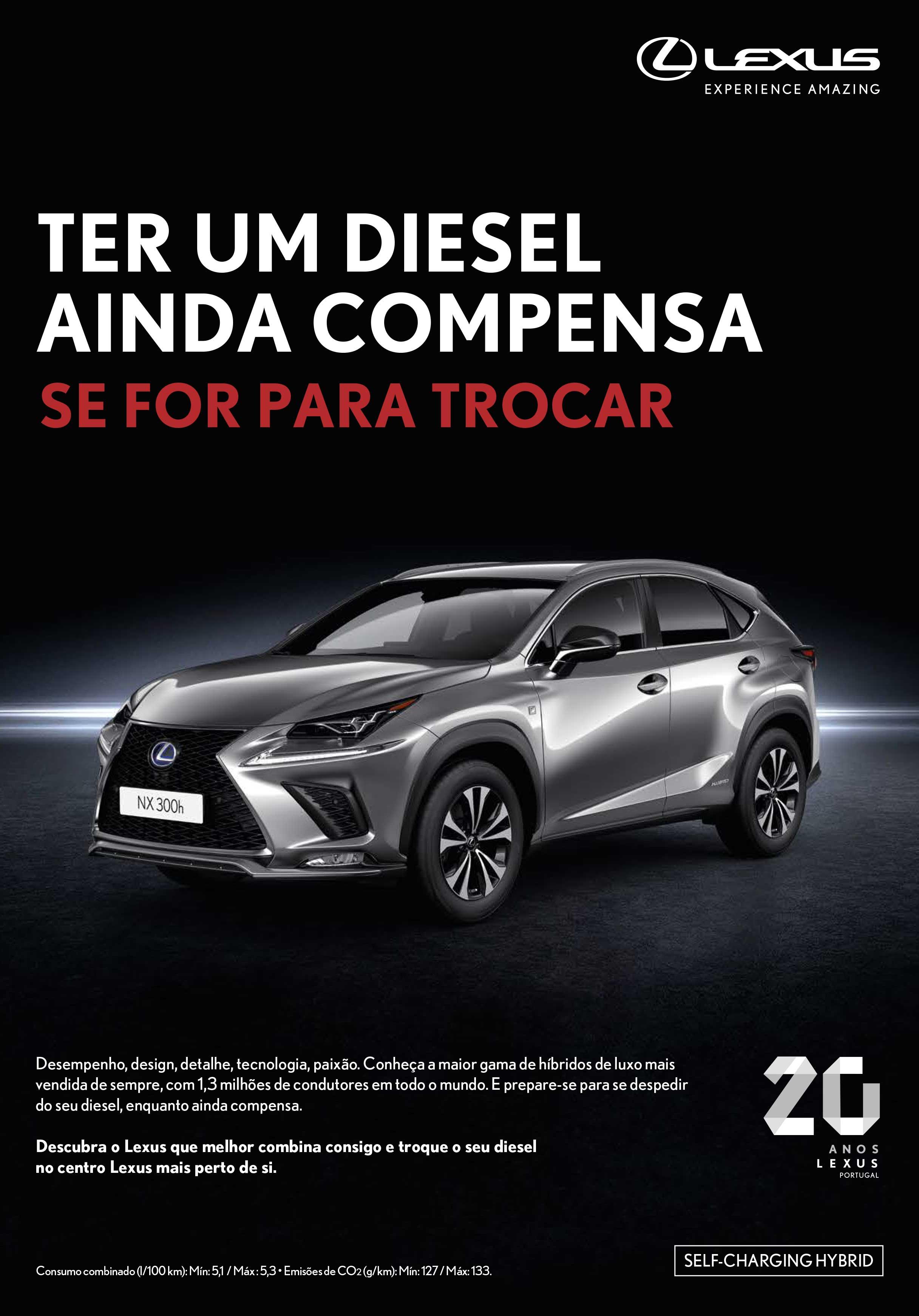 Vendas Lexus com forte crescimento Portugal