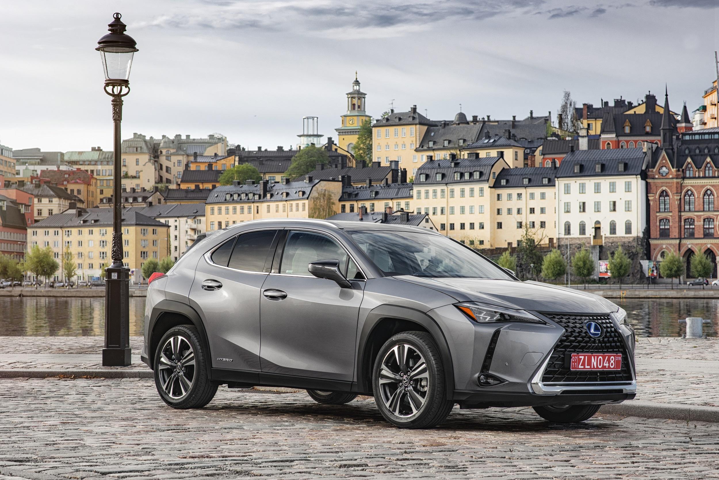 Lexus UX de conceito radical a crossover com design unico
