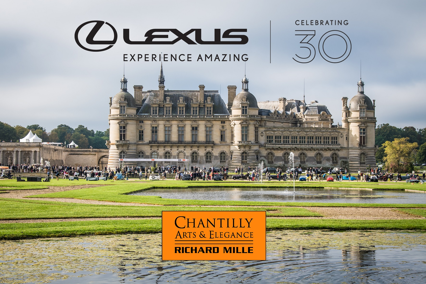 Lexus celebra aniversario no chantilly arts