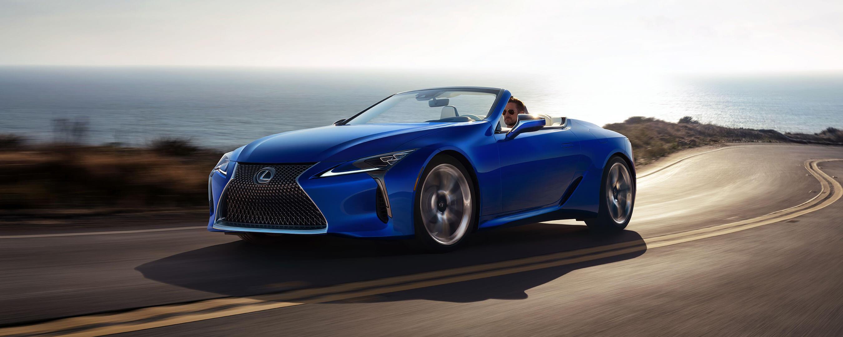 2020 lexus lc convertible experience exterior front