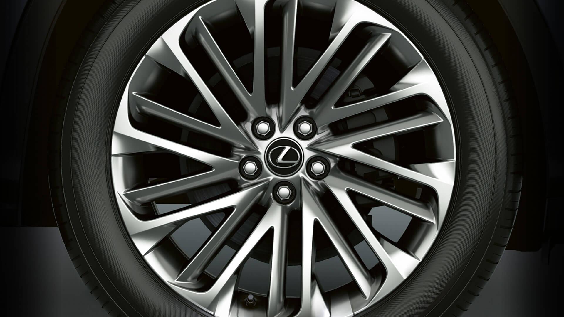 2019 lexus rx hotspot exterior 20 inch alloy wheels