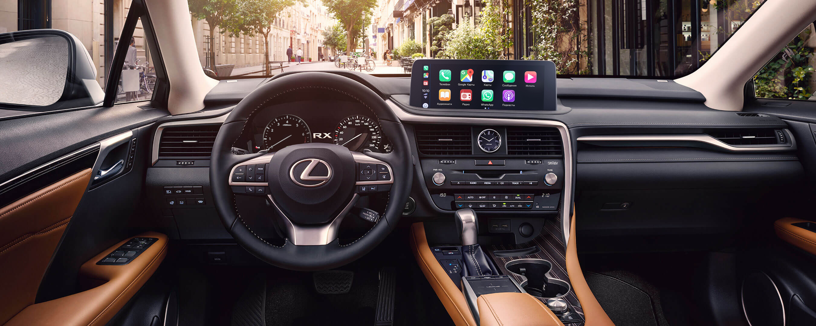 2019 lexus rxl experience front interior