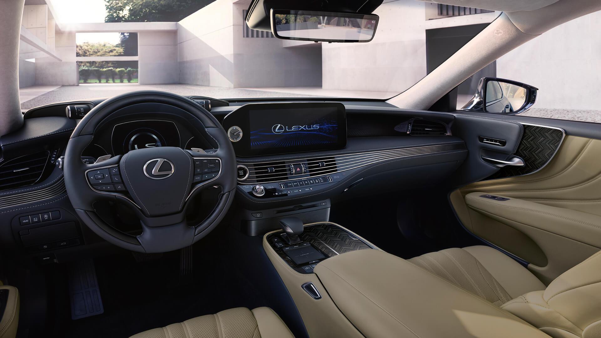 new 2020 lexus ls experience driver focused cockpit