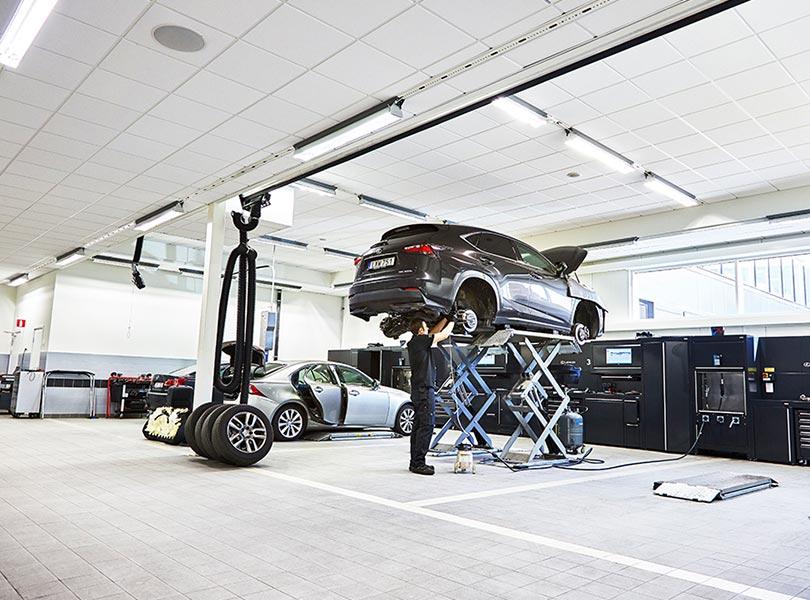 Lexus Stockholm Norr Skadecenter