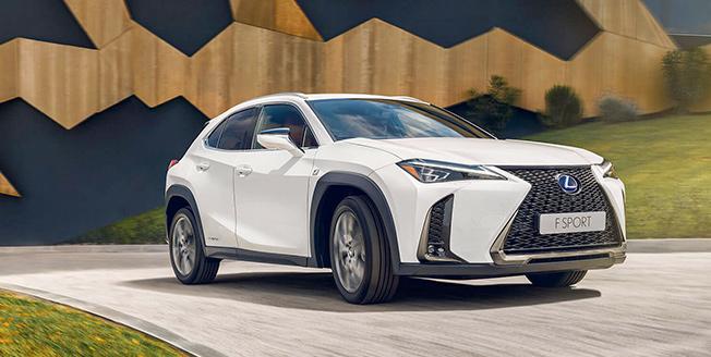 Vit Lexus UX 2019