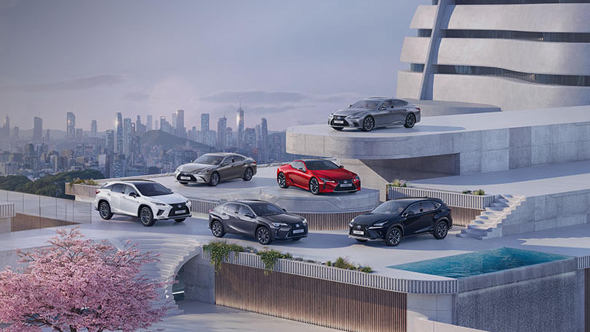 2021 lexus next steps hybrid