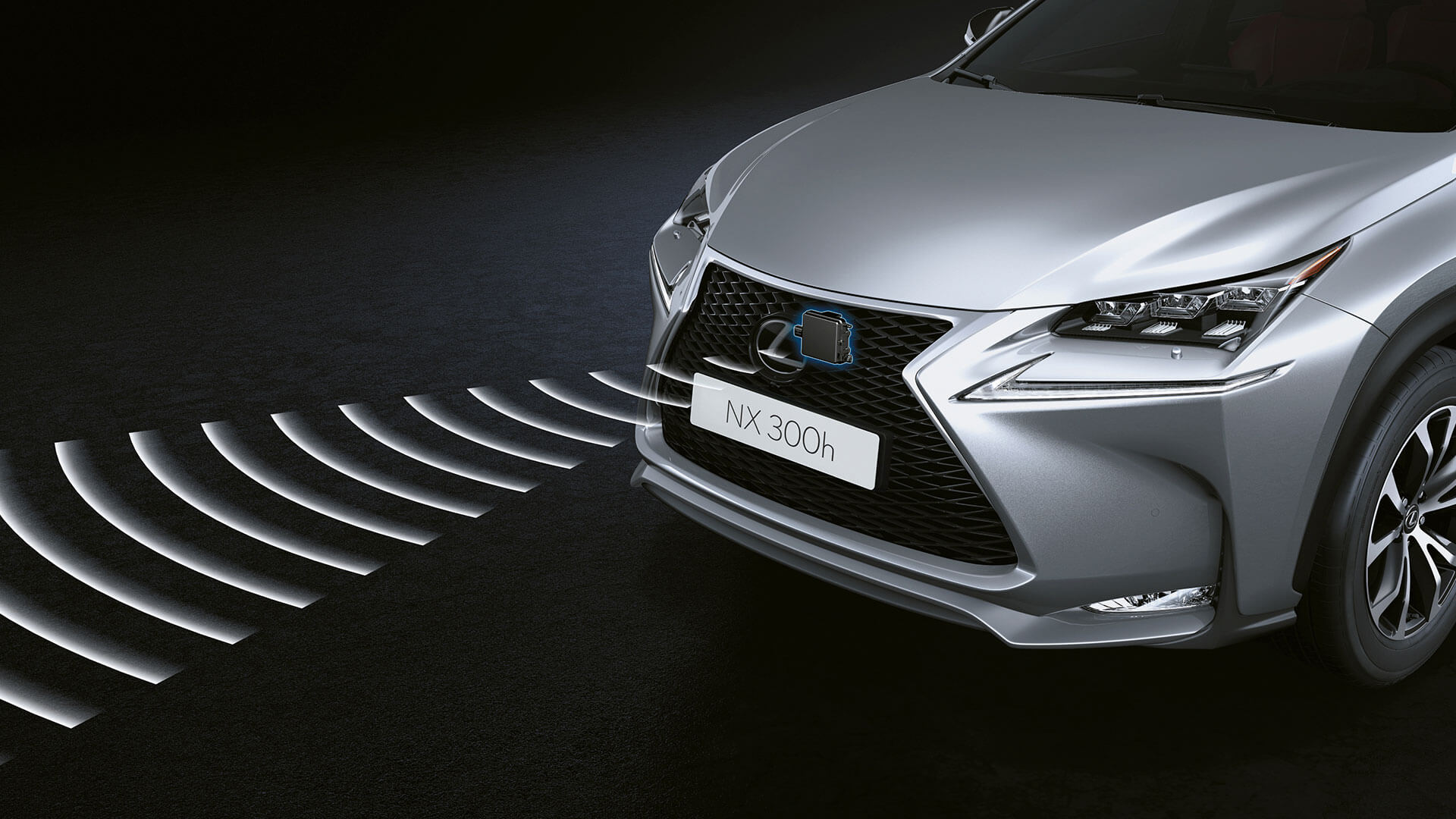 2017 lexus nx 300h features adaptive cruise control