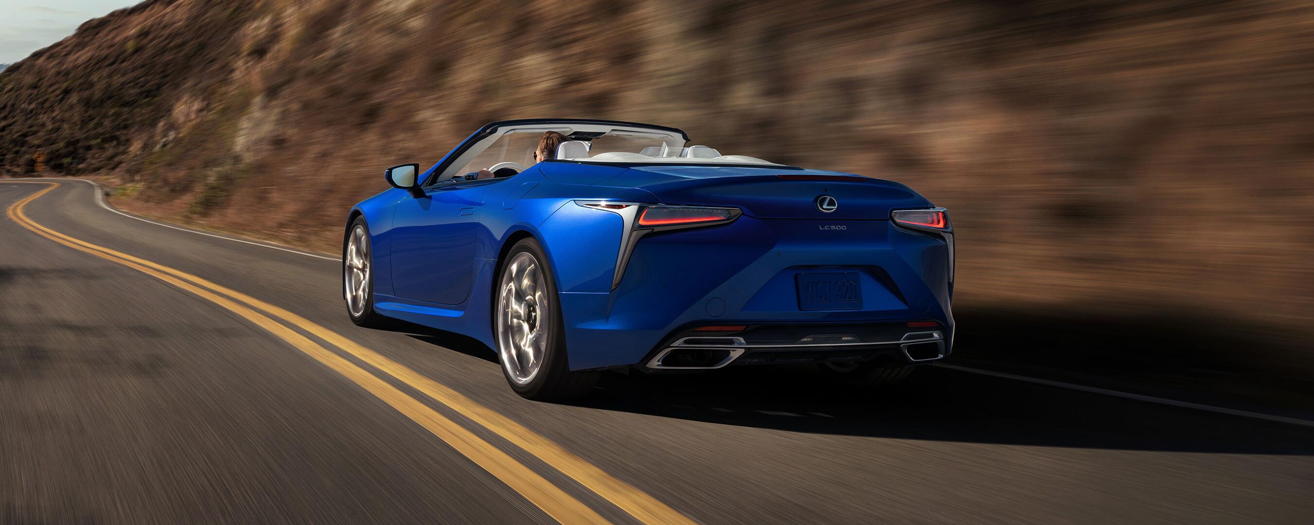2020 lexus lc convertible experience exterior back