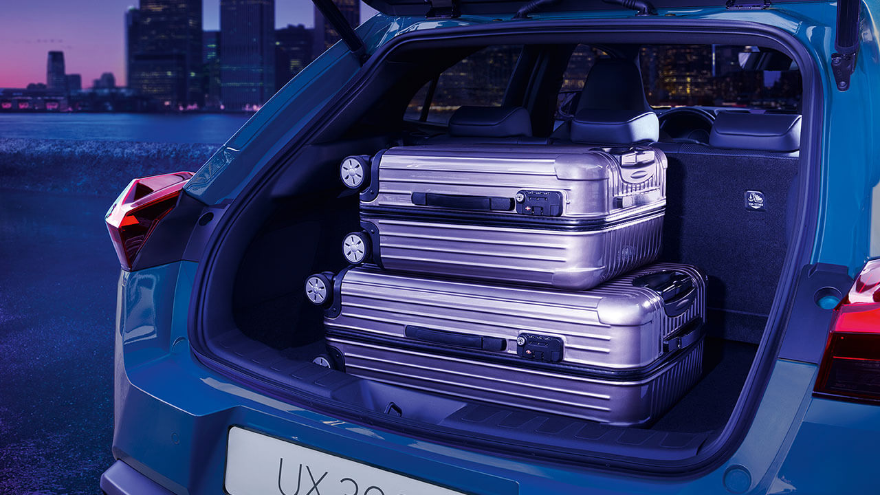 2020 enhanced luggage space