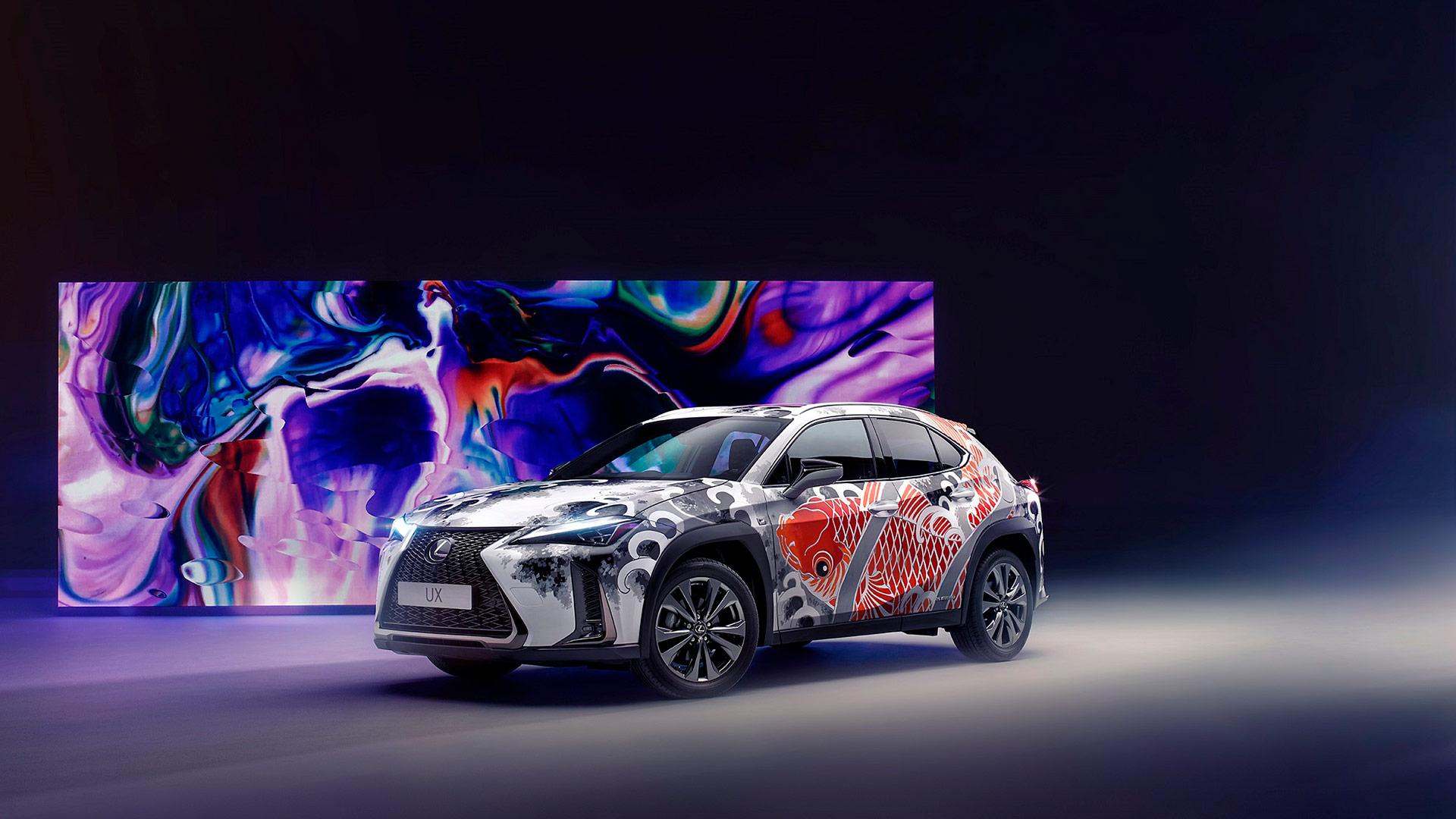 Lexus'a Dövme Sanatı Dokunuşu 01 Image