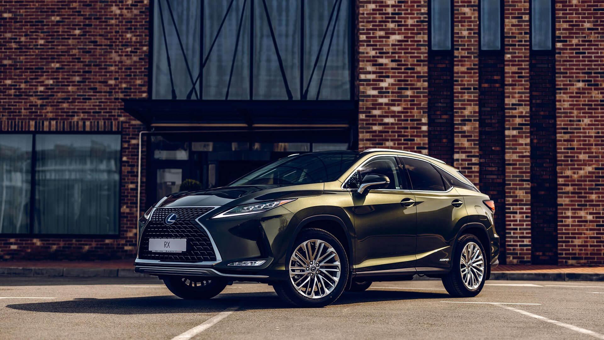 Lexus RX En İyi Premium Hibrit Seçildi