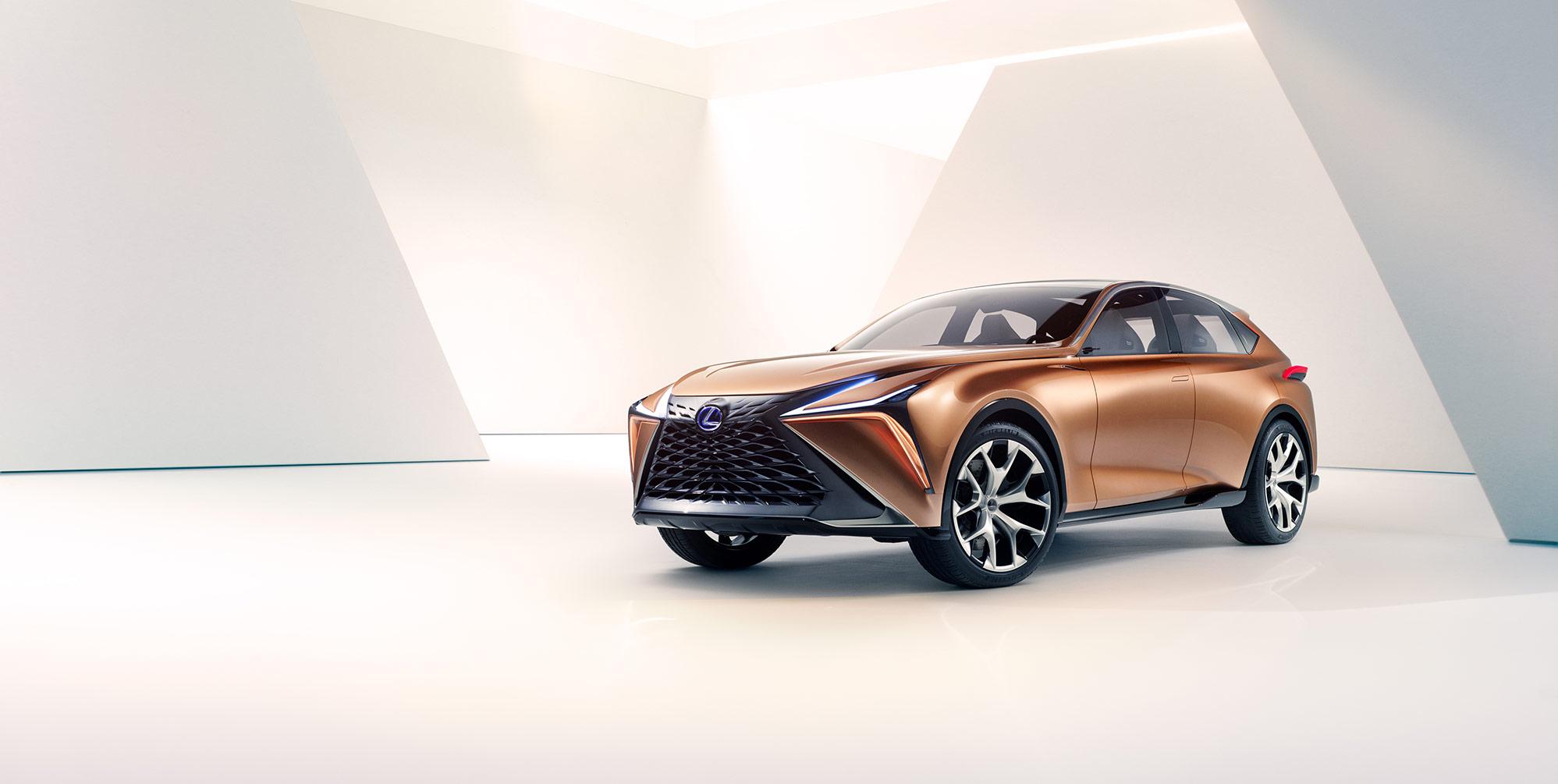 Lexus'un Uzay Aracı Tasarımları